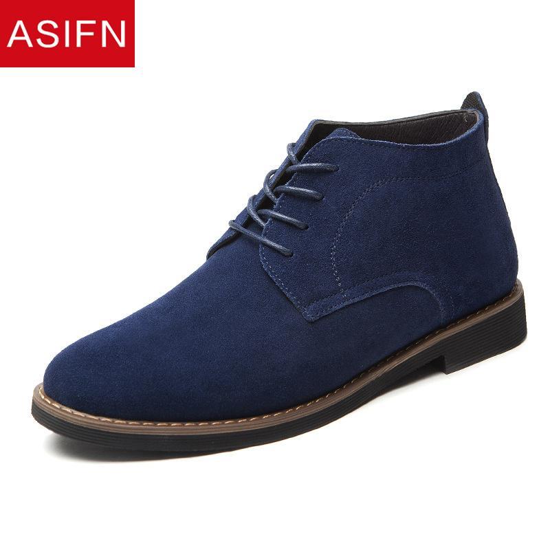 vendita all'ingrosso uomini stivali di grandi dimensioni scarpe casual in pelle casual uomo autunno inverno caviglia maschile in pelle scamosciata uomini scarpe da lavoro botas