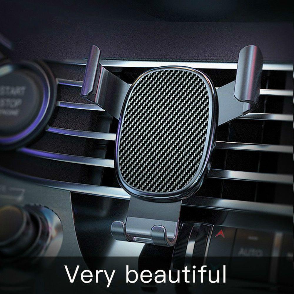 New Car Phone Holder Detentor de telemóvel para carro Phone Holder ficar firme fixo apoio do suporte Gravidade sensoriamento aperto Auto