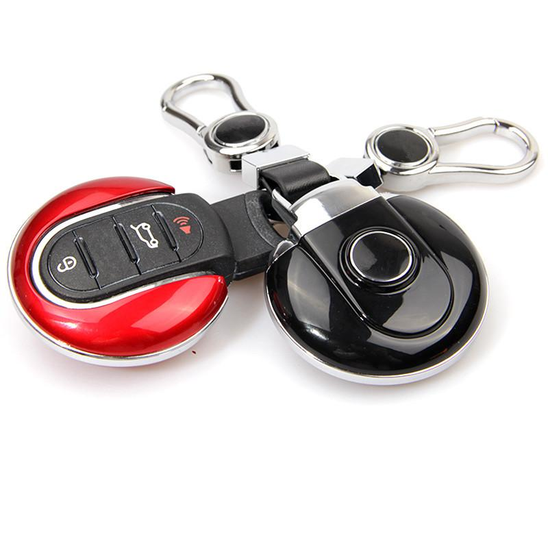 For Mini Cooper F54 F55 F56 F60 Key Protection Cover Red White Black Blue ABS Key Shell Case Styling Accessories
