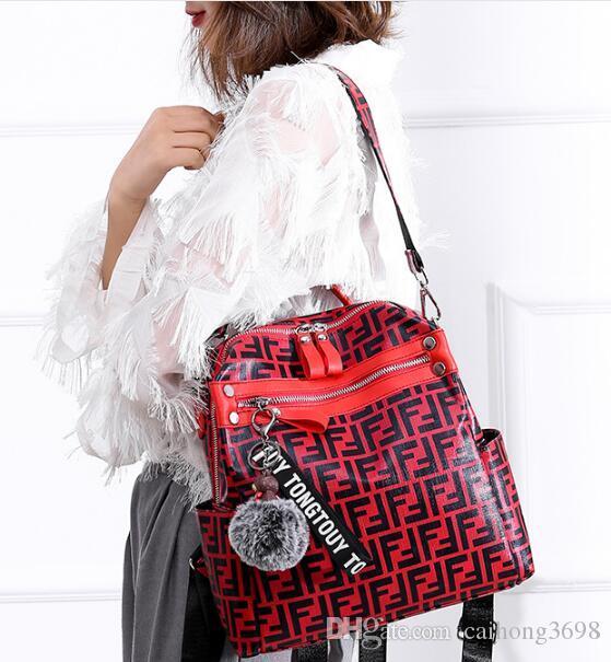 Kadınlar Erkek Nedensel Geri için En Çok Satan Tasarımcı sırt çantası pu Deri Moda Çanta Gençler School'un okul çantası sırt çantası yapılmış pack