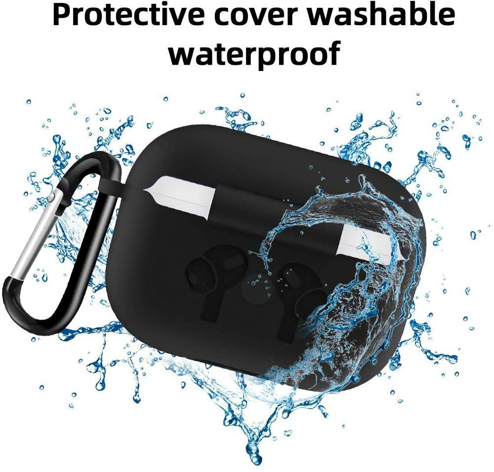 For Apple Airpods Pro Case Air Pods Pro Silicon Soft Cover Funda Wireless Earphone Protective Skin Cover Bag For Air Pods Pro Earpods Case