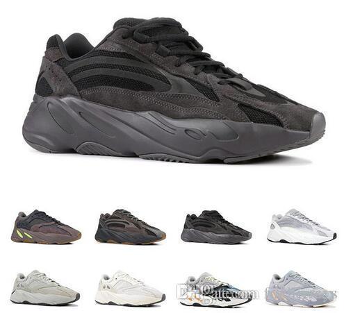 700 V2 scarpe da corsa per gli uomini delle donne VANTA Statico SALE Multi Solid Grey Mauve INERZIA Mens analogico della scarpa da tennis di sport formatori di moda