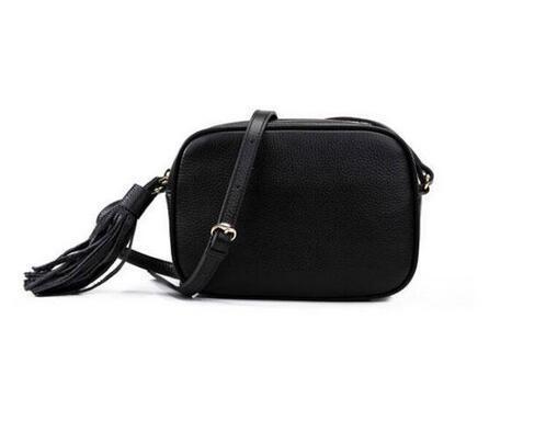 Frauen Disco Umhängetaschen Soho Tasche Frau Handtaschen Brieftasche Berühmte Damen Crossbody Fransen Messenger Geldbörse 22cm