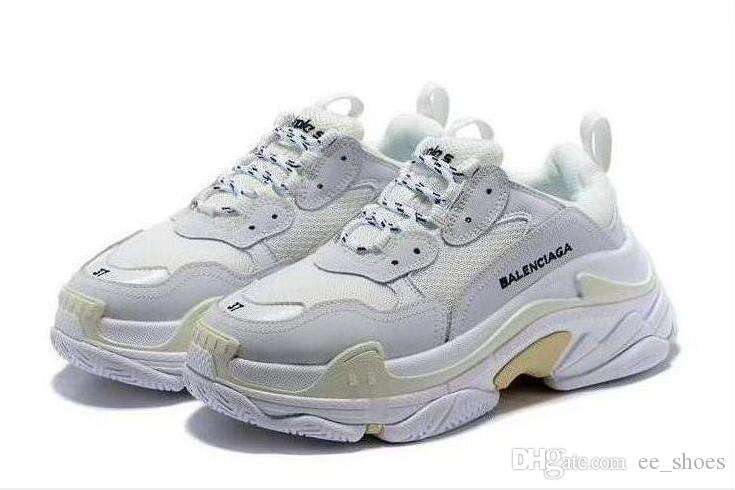 latest best selling entire collection New Arrival 2020 High Quality Unisex 18SS Triple S Trainers Casual ...