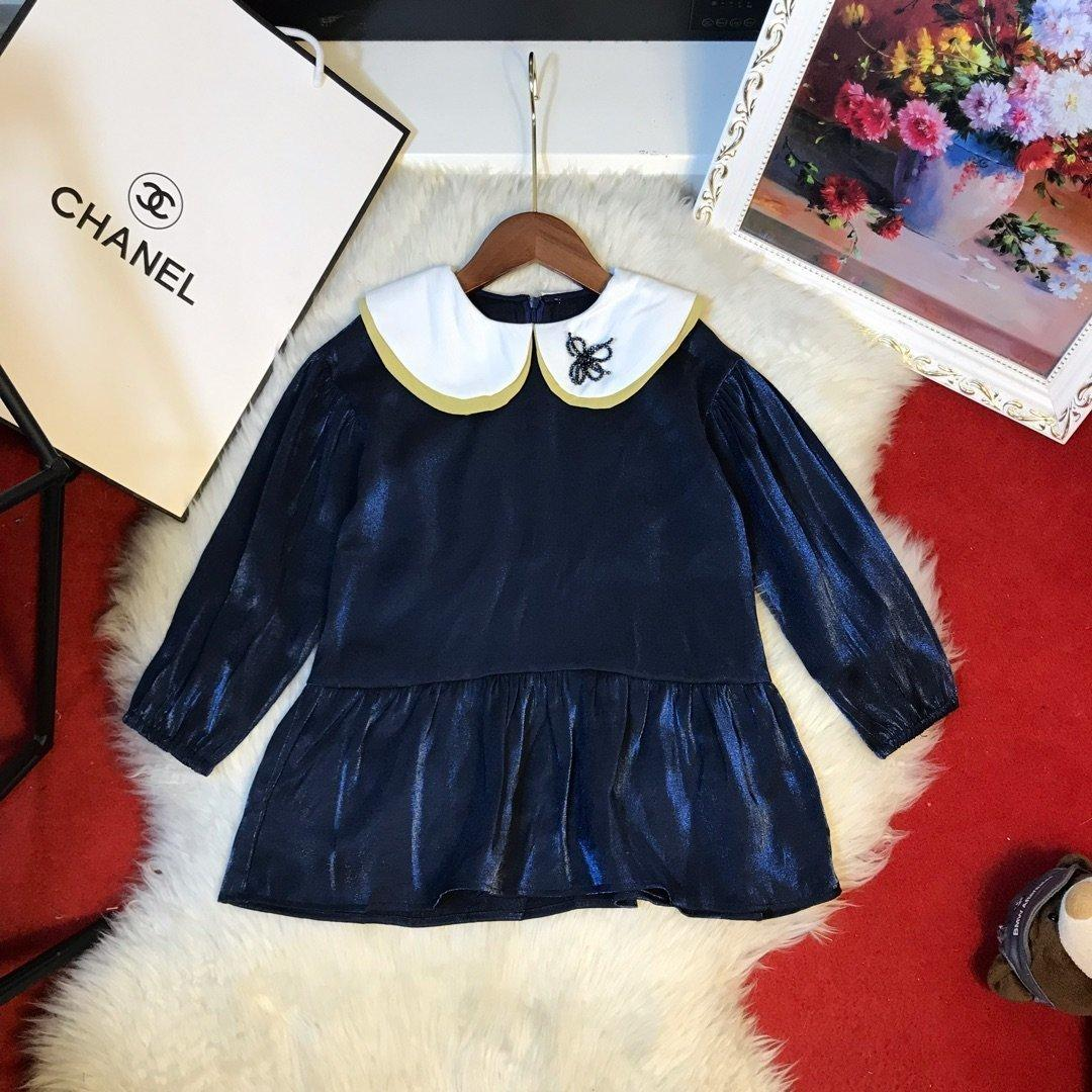 Kindrock nette Art und Weise Mädchen atmungsaktiv und bequem kleiden Baumwollspiel Partei skirtK504 gemacht
