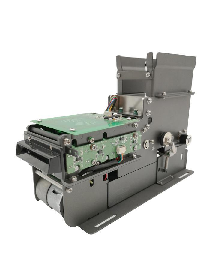 KT750 distributeur de cartes motorisé et Collector avec le fonctionnement module lecteur NFC 13,56 Recyclage