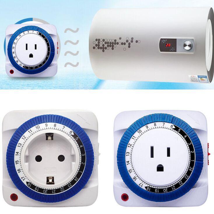24-Heures Economiseur D/énergie Commutation de Puissance Prise Minuterie Programme Electrique