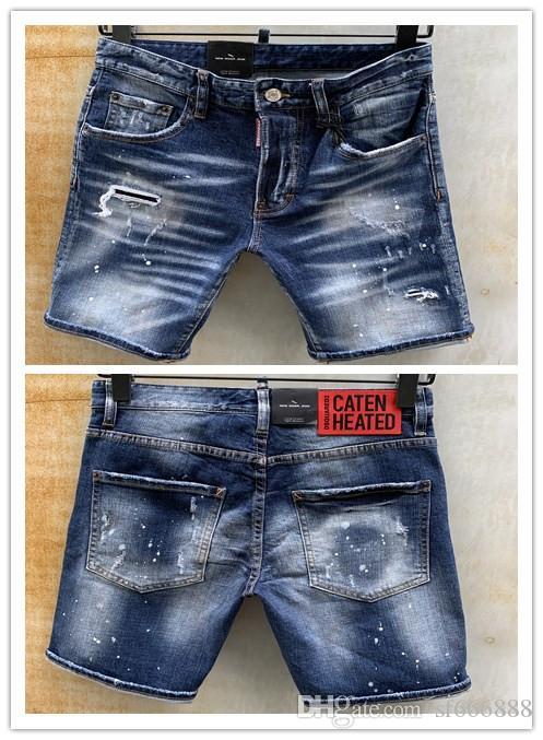 2020 Heiße Marke Design Persönlichkeit Einfache Männer Jeans Top Beliebte Qualität Mode Luxus Cowboy Herren Heißer Verkauf D2031