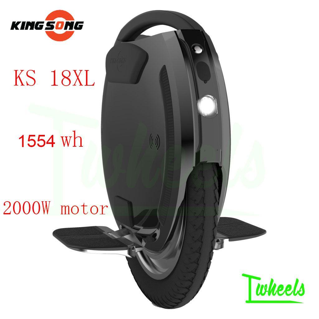 킹 노래 KS18L 최신 바퀴 전기 외발 자전거 1554wh KS18L의 버전을 증폭