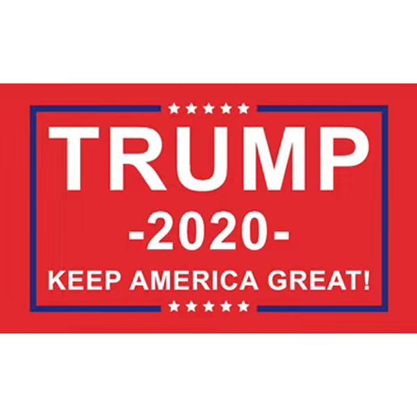 2020 Presidente Trump Bandiera Keep America Grande Bandiera Banner 3x5FT 90x150cm Home Decor Poliestere Decorazione