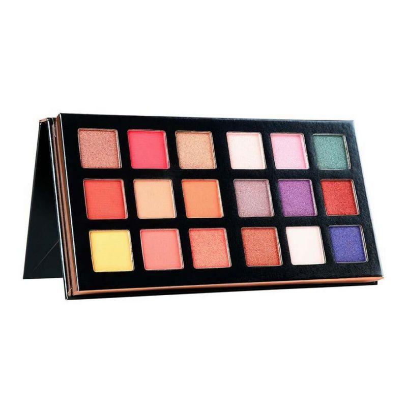 18 Color Matte Eyeshadow Pallete Makeup Beauty Glazed Eyeshadow Palette Shimmer Make Up Palette