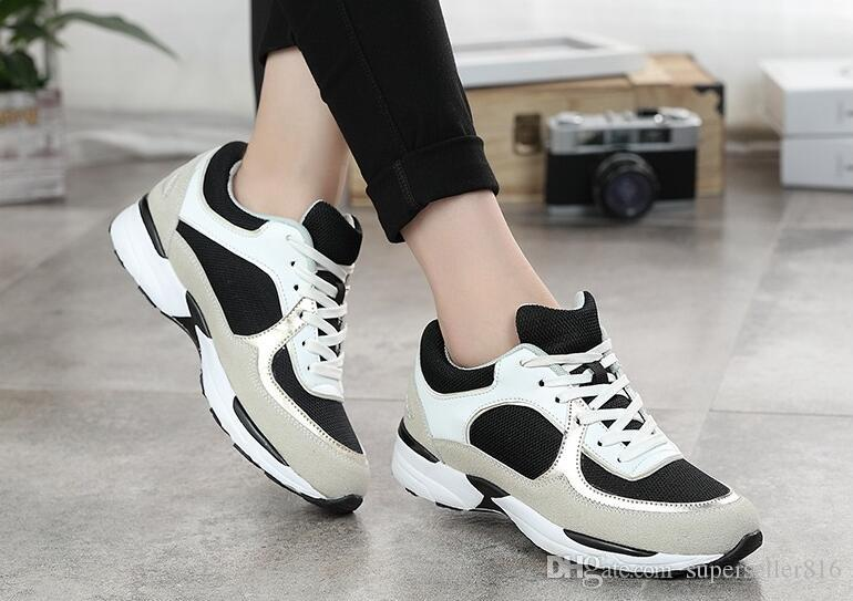 Envío gratis nuevas mujeres zapatos de cuero zapatos con cordones zapatos de diseñador de marca venta caliente