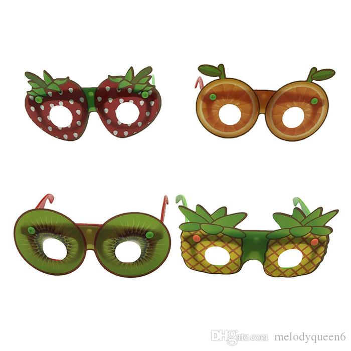 Hotsale Creative Fruit Shaped Sunglasses Fashion Children Decorative Glasses Handmade DIY Party Cartoon Eyewear Party Favor
