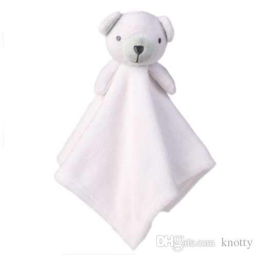 Baby Plush Toy Cute Animals Comfort Towel Toys Soft Appease Dolls Cartoon Animal Playmate Sleeping Toys For Baby