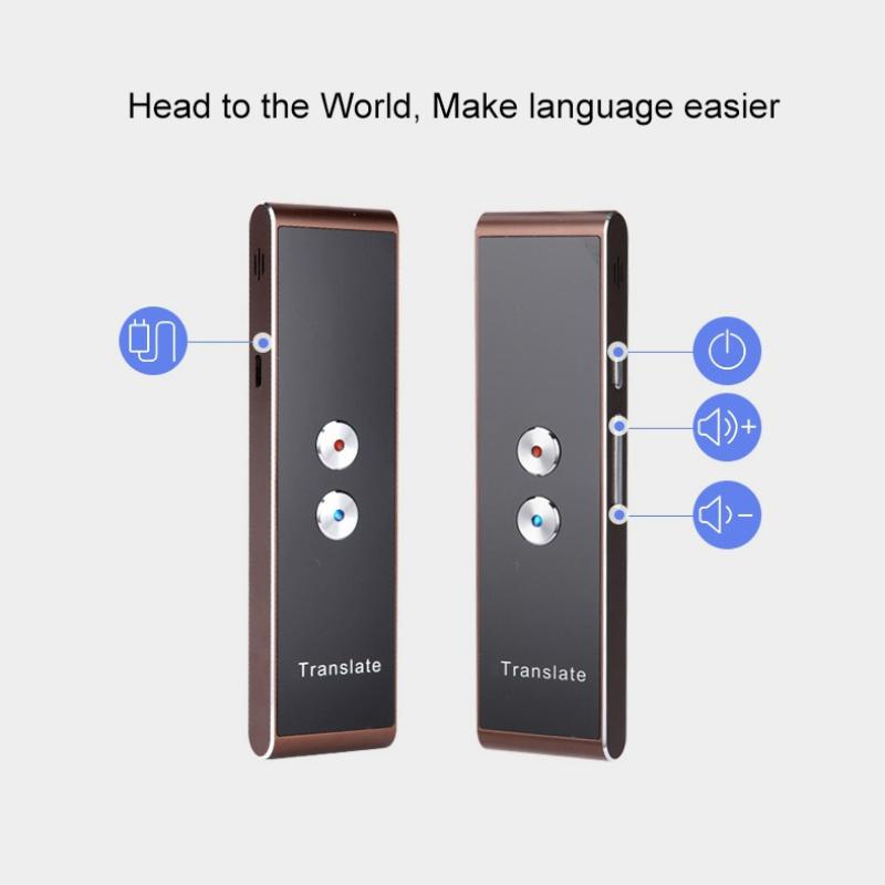 t8 portátil Wifi Voice Translator Two-Way em Tempo Real 40 Multi-Idioma Tradução para aprender Viajando Tradutor Negócios