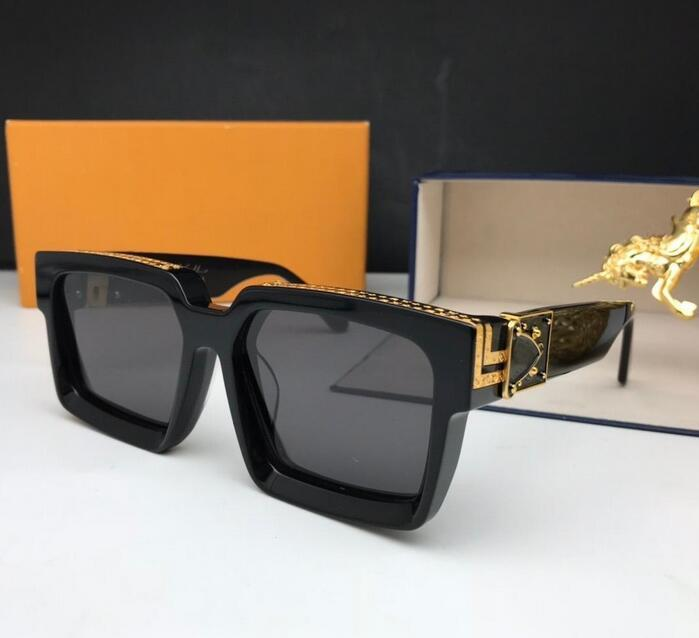Sunglasses Men Shiny Gold Hot sell Gold plated Top quality menLuxuryDesignerBrand1Glouis 1GUV400