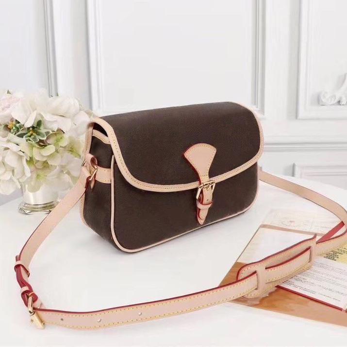 Bolsa de moda-superior Orignal Messenger Quality Bolsa de cuero Lady Fashion Satchel Hombro Bolsos de hombros Paquete Presback Packole CKLVB