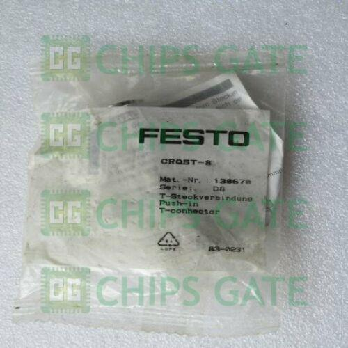1PCS New FESTO Gás Montagem CRQST-8 130670 Fast Ship