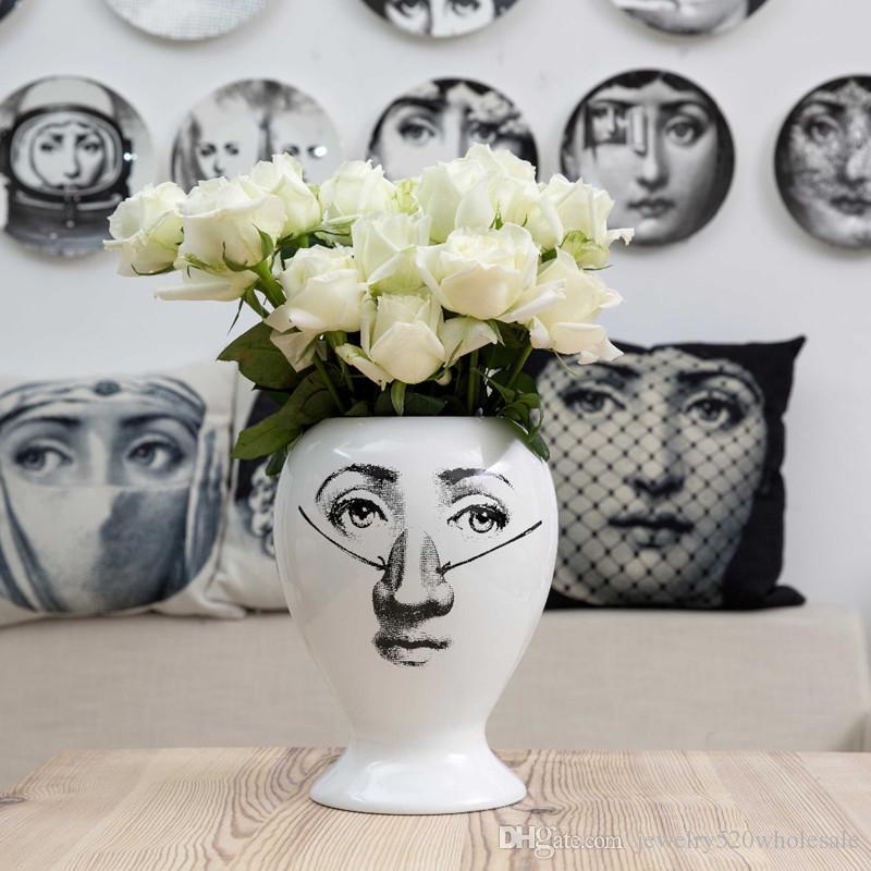 European Ceramic Vase Decor Flower Pot Decorative Sealing Vase Home Decoration Accessories Christmas 30*18cm
