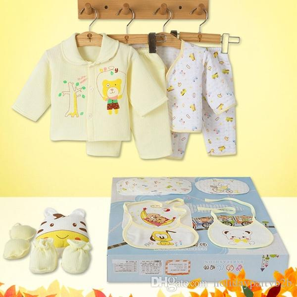 18pcs Cotton Newborn Baby /& Toddler Clothing Sets infant set with gift bag Set