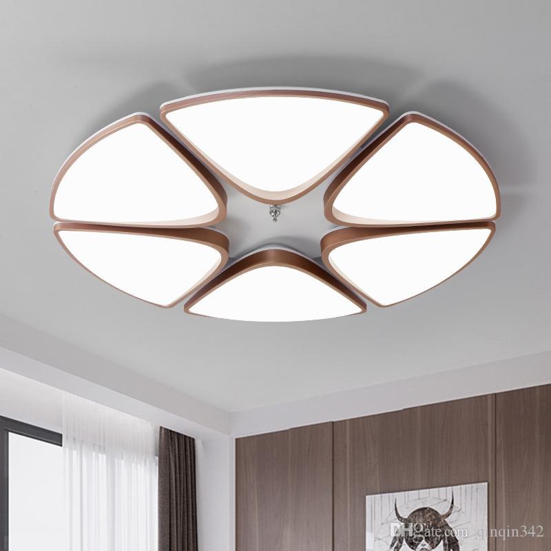 Escurecimento redondo LEVOU Luzes de Teto Para Sala de estar Quarto AC85-265V Modern Led Luminárias de Teto lampara techo