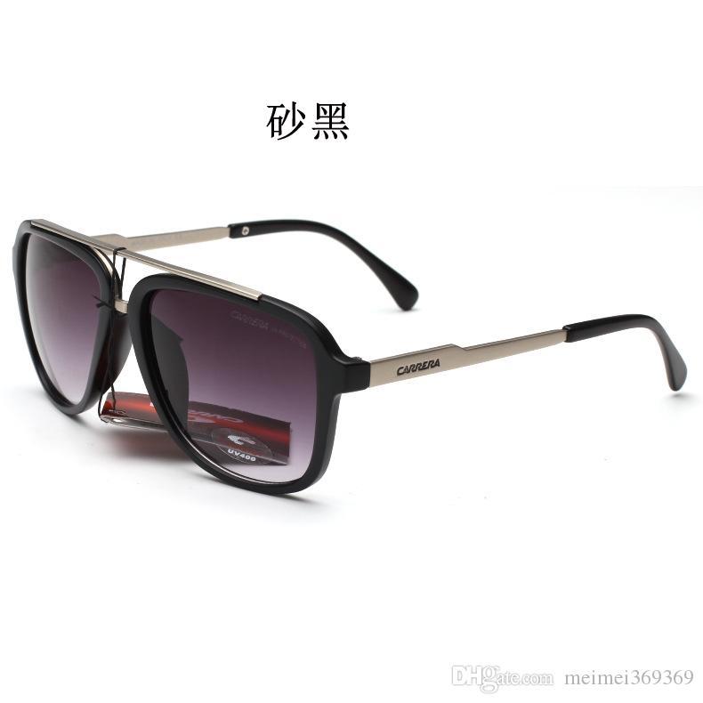New Fashion Classic Sonnenbrillen quadratischen Rand Retro-Stil Outdoor-Design Männer und Frauen Sonnenbrillen optimiert Gesicht Mode elegante Sonnenbrille