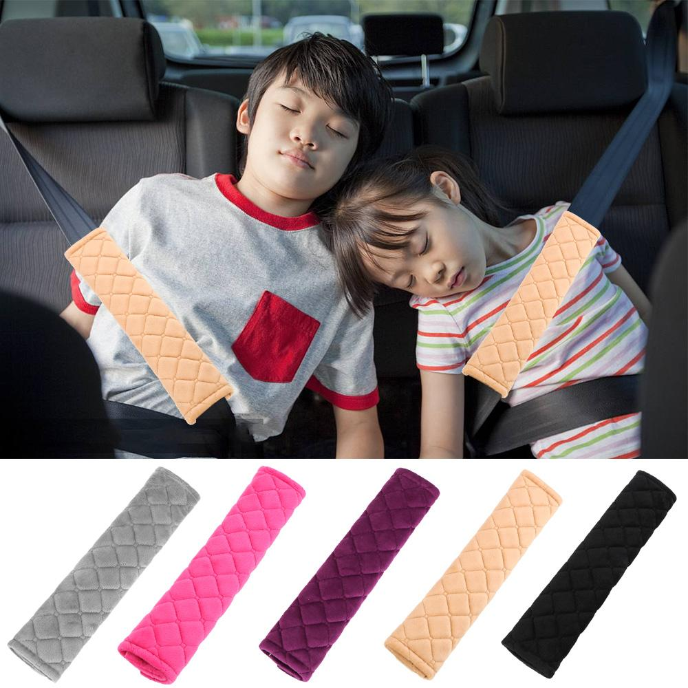 Car Seat Belt Cushions Universal Car Seat Belt Shoulder Pads Strap Covers for Adults Sunflower YR 2 Packs Soft Comfort Car Seat Belt Pads Cover