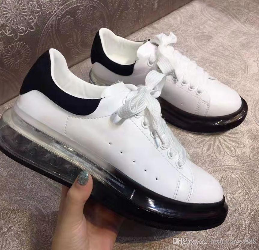 2019 Новый бренд Женская обувь Женская мода Low Cut белый натуральная кожа дизайнер Повседневная обуви Открытый Женский Zapatos Кроссовки Мокасины 35-40