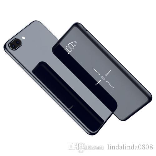 Qi Wireless Charger Power Bank 10000mAh Portable PowerBank caricabatteria esterno ricarica veloce senza fili per il Xiao mi iPhone mi