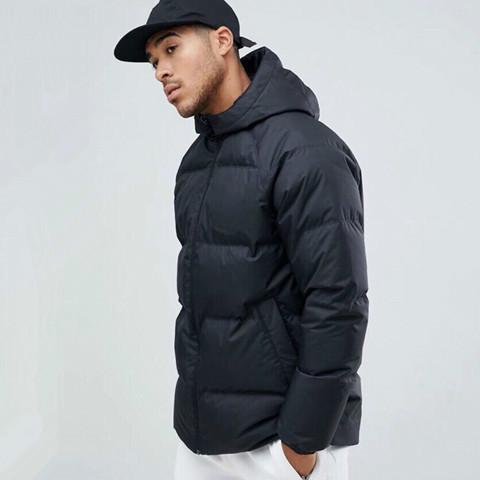 Winter clothes cotton coat Double-Sided Mens Hooded Padded Jackets Winter Sports Parkas Down Windbreaker Coat Quilted Thick High Street