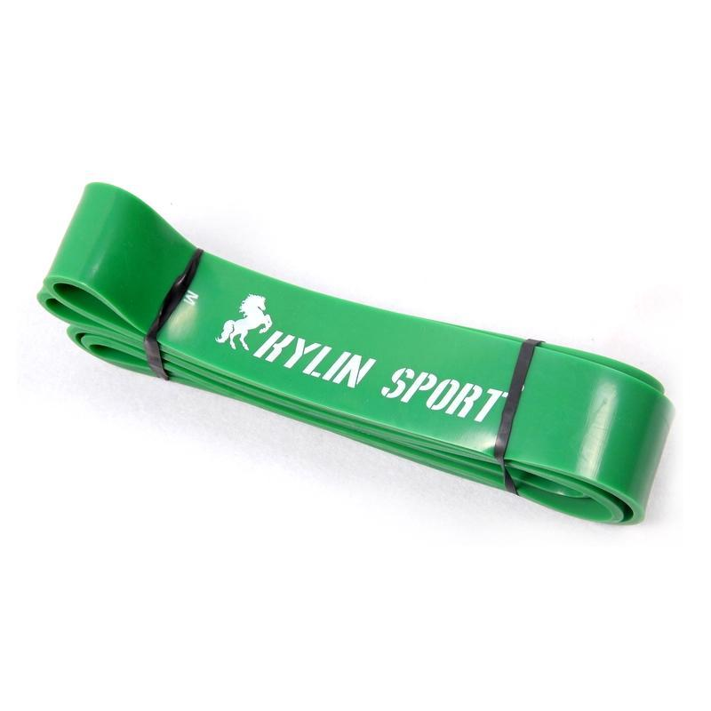 Green One Hot Sale Диапазоны сопротивления с Предел прочности при растяжении Обучение Бодибилдинг ног на резинке Фитнес Anti-ралли