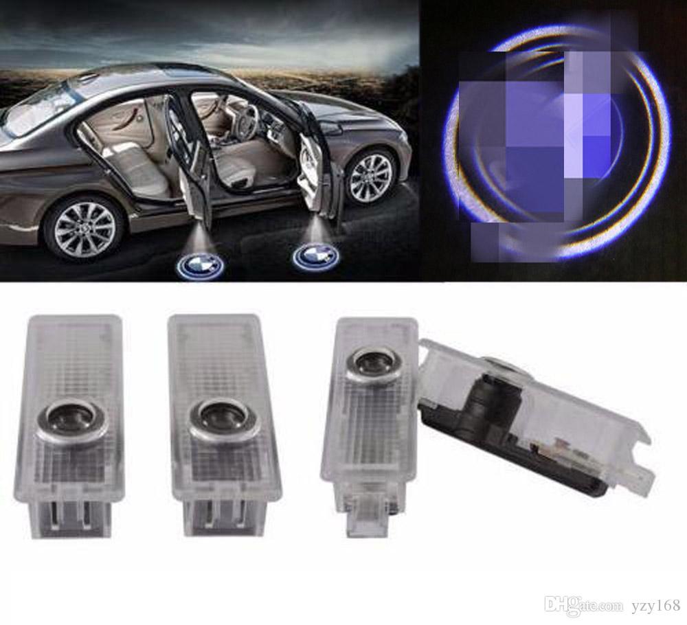 100 PCS voiture courtoisie LED Projecteur Ghost Shadow Light pour BMW Logo Bienvenue Lumières