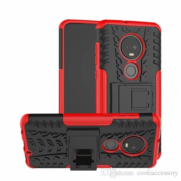 Броня Гибридный жесткий чехол для Samsung Galaxy A9 2018 J2 A01 ядра MOTO G7 G8 PLUS LG V50S Google Pixel 5 Sony Xperia 10 Tire Stand крышка телефона