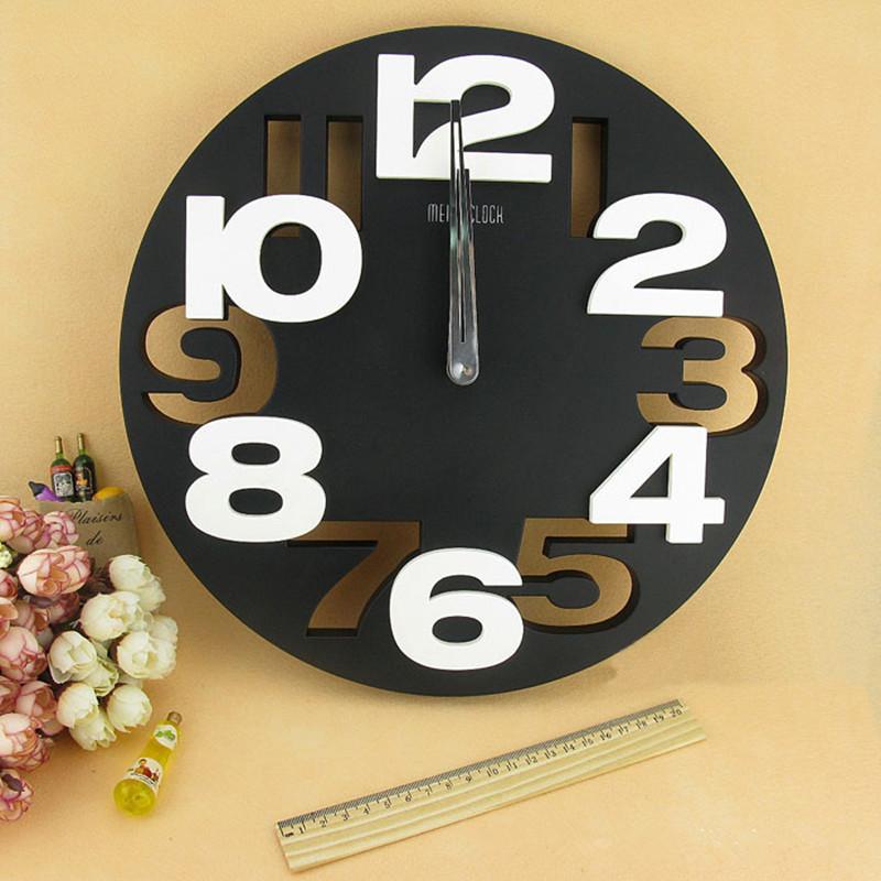 Big Number 3d Round Wall Clock Digital Large Decorative Wall Clock Modern Design Brief Simple Cheap Mural Kitchen Wall Watch Cj191214 Small Kitchen Clocks Small Kitchen Wall Clock From Quan09 25 97 Dhgate Com