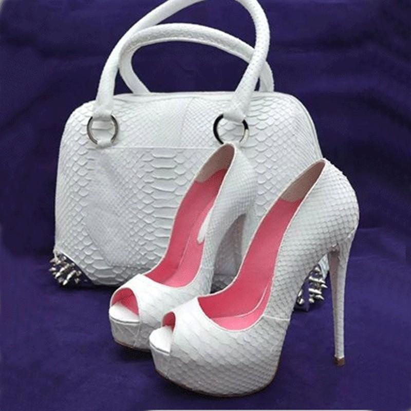 Zapatos de vestir zapatos Lanlojer, lámpara de tacones altos sexy bombas de tacón de mujer Telas de PU de boda, 12,5 cm de tacón de tacón alto.