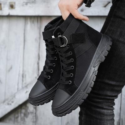 YRRFUOT Erkekler Kış Açık Kaymaz Pamuk ayakkabı Rahat Sıcak Satış Moda Kış Kar Boots Zapatos ılık Çalışma botları tut