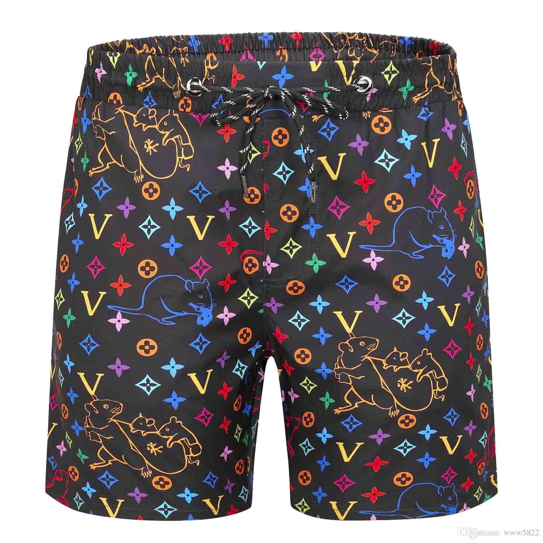 Uomini di Sport Bermuda Surf Shorts Moda Estate Quick-Dry Spandex pensione Spiaggia di shorts di nuotata elastico ordine misto