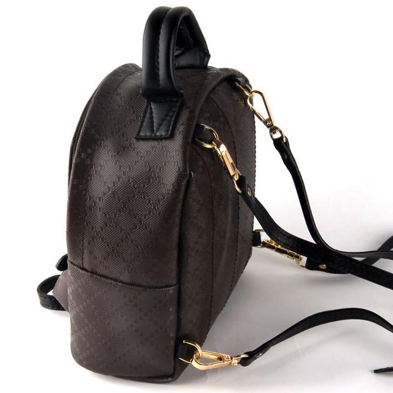 Designer-Freies Verschiffen! Heißer Orignal reale echtes Leder-Mode-Pack Rucksäcke Handtaschen Presbyopic Mini-Pakete Handy-Geldbeutel Brown