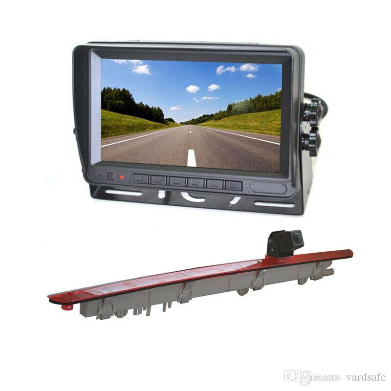 Car Rear View Parking Brake Light Backup Camera + Rear View Monitor for Mercedes Benz Vito Metris Viano