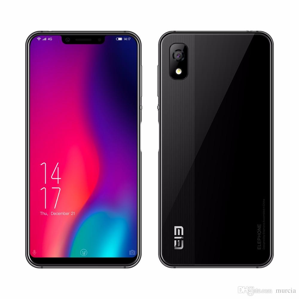 Original Elephone A4 Pro MT6763 Octa Core Cell Phone HD+Screen 5.85 Inch Android 8.1 Smartphone 4GB RAM 64GB ROM 16MP 4G LTE Mobile Phone