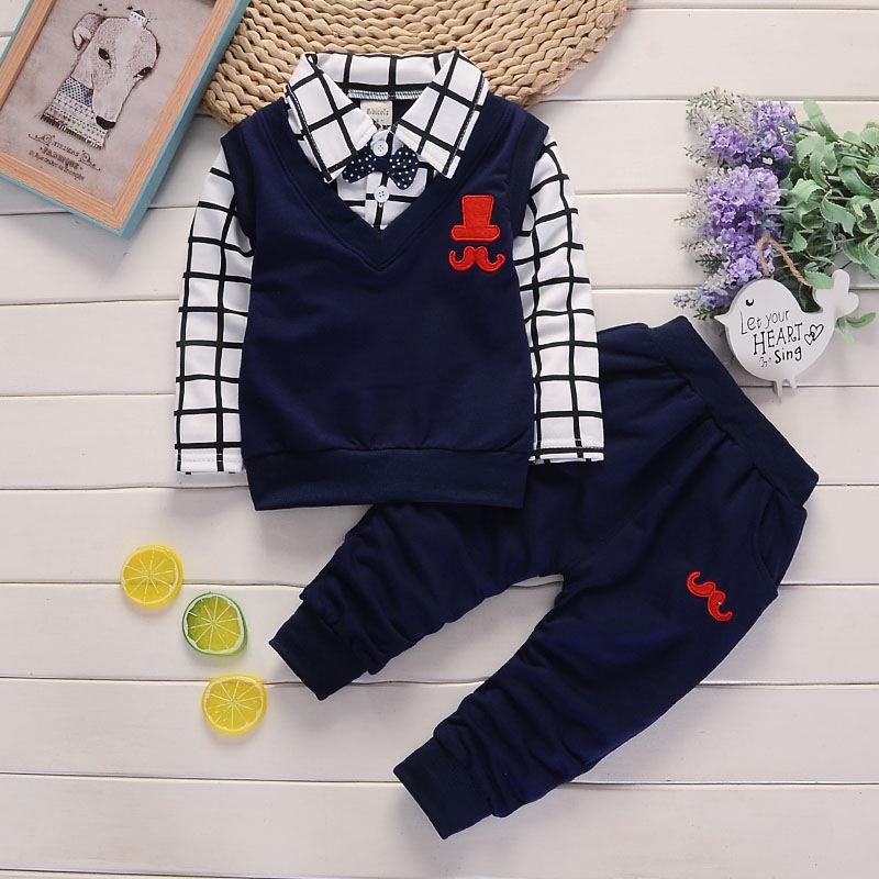 Baby girl clothes Tops/&pants 2Pcs Outfits cotton spring fall tracksuit flower