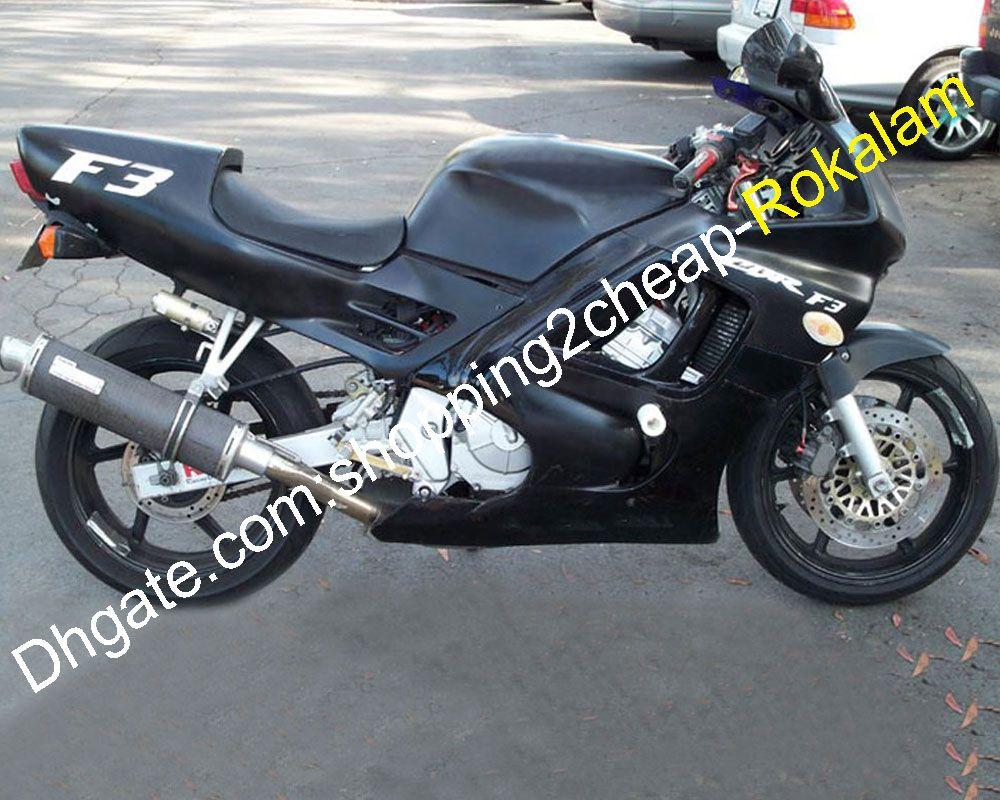 Motorcycle Cowlings Black CBR600 F3 For Honda CBR600F3 600F3 CBR 600 95 96 1995 1996 CBR-600 F3 Fairing Kit (Injection molding)