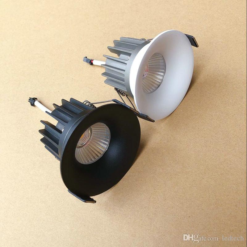 LED Downlight 7W ronde lampe à encastrer 110V 220V 230V Ampoule LED 240V Chambre Cuisine intérieure LED Spot éclairage