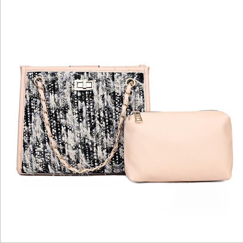 Роскошные сумки сумки женщина конструктора нового сумки вскользь Твердая плеча Сумка Кошелек для женщин Мода Cross Body Bag