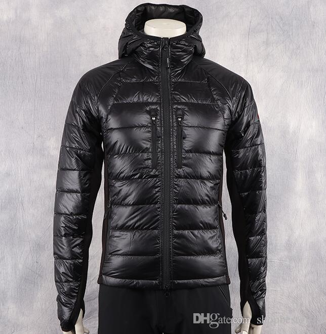 패션 겨울 다운 재킷 라이트 남자 따뜻한 후드 디자이너 클래식 재킷 망 브랜드 파카 남자 코트 플러스 사이즈 온라인
