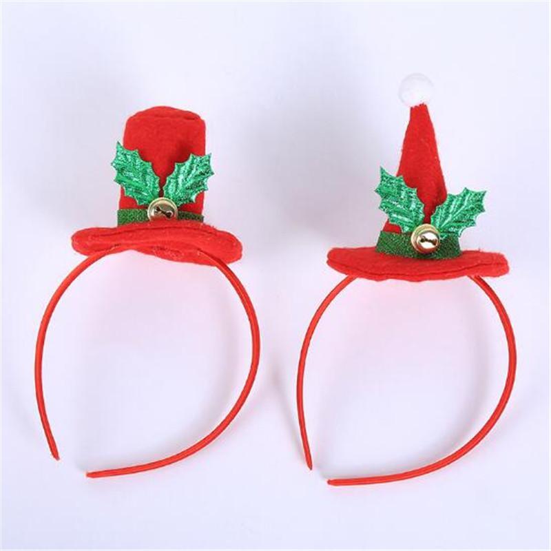WYNLZQ Kostüm Stirnband Weihnachtsparty Weihnachts Haar Kopfbedeckung Haar Hut Weihnachten Cap Neujahr Weihnachten Home Kids Geschenk Kinder Erwachsene Frauen