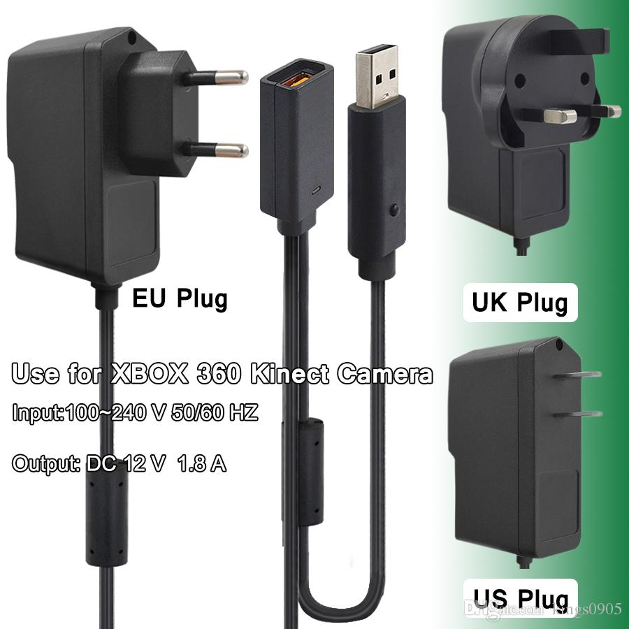 EUROPEAN 6 FT POWER SUPPLY CABLE FOR MICROSOFT XBOX ONE 1 BRICK CHARGER ADAPTER