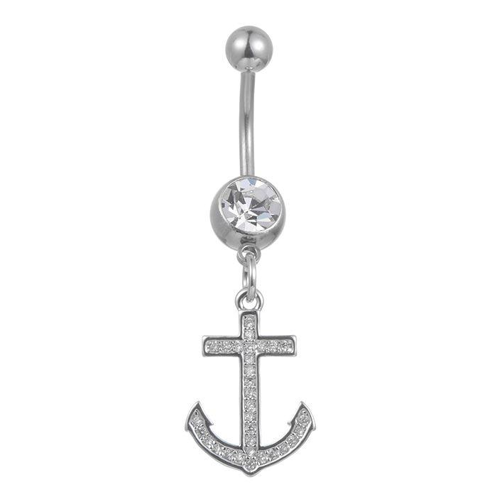 G0024 ładny styl pępek przycisk pierścień detaliczny sprzedaż pępek pierścionki pierścionek piercing biżuteria Dangle akcesoria moda urok