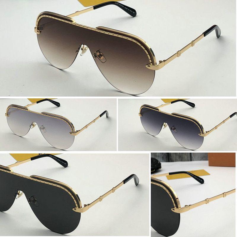 Gafas de sol de sol plateadas Color de las mujeres y de moda Vidrios sin marco de moda Lente UV Lente de la lente Protección del espejo Marco con los hombres de lujo Marca Jxvk