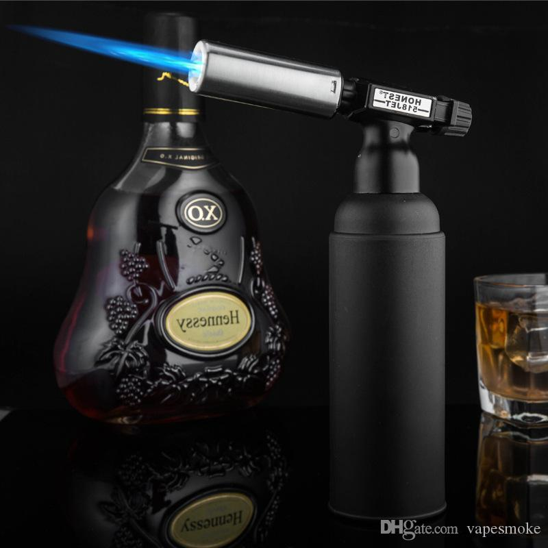 New Jet Butanfeuerzeug Einzel-Flamme-Fackel-Feuerzeug-windundurchlässige für Outdoor-Barbecue oder eine Zigarre
